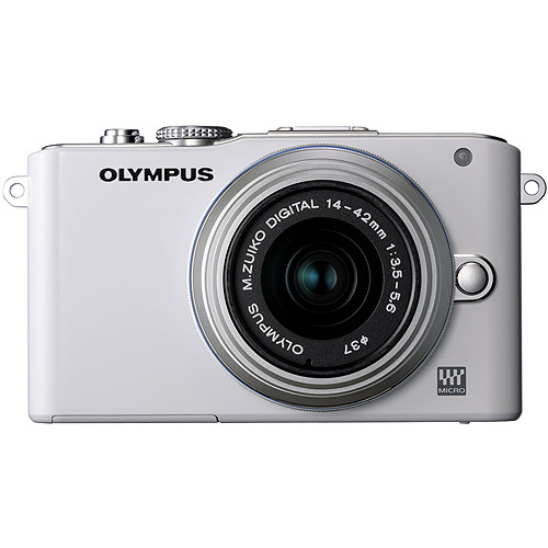 Olympus E-PL3 Digital Camera with 14-42mm Lens - White