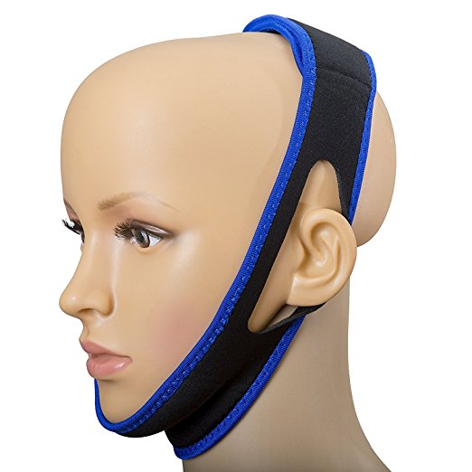 SoundtoSleep Anti-Snoring Chin Strap Snore Stopper Solution Device - Snore Relief Guard - Sleep Aid Jaw Strap Reduces And Prevents Snoring