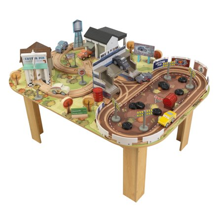 Disney Pixar Cars 3 Thomasville Track Set & Table By KidKraft with 73 accessories included