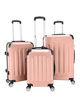 """20"""" 24"""" 28"""" Suitcases, TSA Approved Lock Included Carry-on Luggage, Maneuverable 360-degree Rotation Luggage Sets with Spinner Wheels for Cruise, Travel, Business Trip, Holiday, Vacationing, Q1085"""