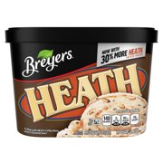 Breyers Frozen Dairy Dessert HEATH English Toffee 48 oz