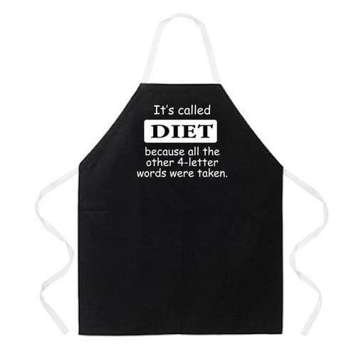 Attitude Aprons by L.A. Imprints Diet Apron