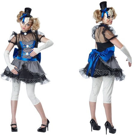 womens twisted baby doll halloween costume (R2d2 Baby Halloween Costume)