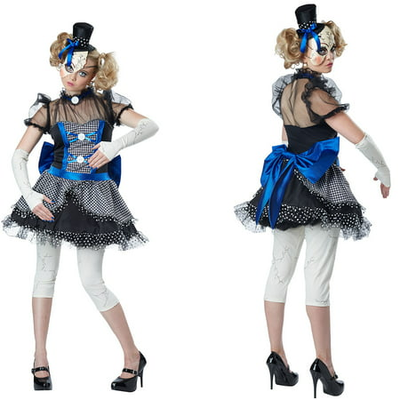 womens twisted baby doll halloween costume](Cute Family Halloween Costumes With Baby)