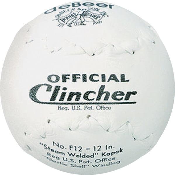 Rawlings deBEER 12 inch Kapok Center Clincher Softballs, 12 Pack