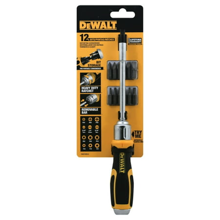 Dewalt DWHT69233 12 Bit Ratcheting Screwdriver