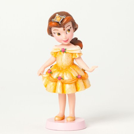 Couture De Force Disney Little Princess Belle Wearing Yellow Dress Figurine