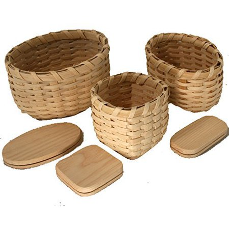 Snack Trio Basket Weaving Kit - Paper Basket Weaving