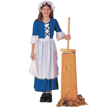 Blue Colonial Girl Child Costume - Party City Tween Girl Costumes