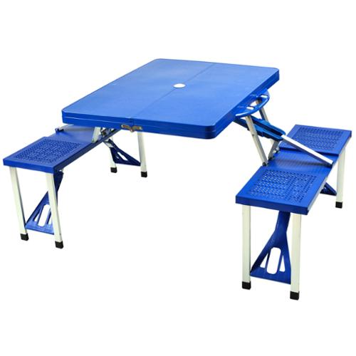 Picnic at Ascot Portable Picnic Table Set with Storage Case