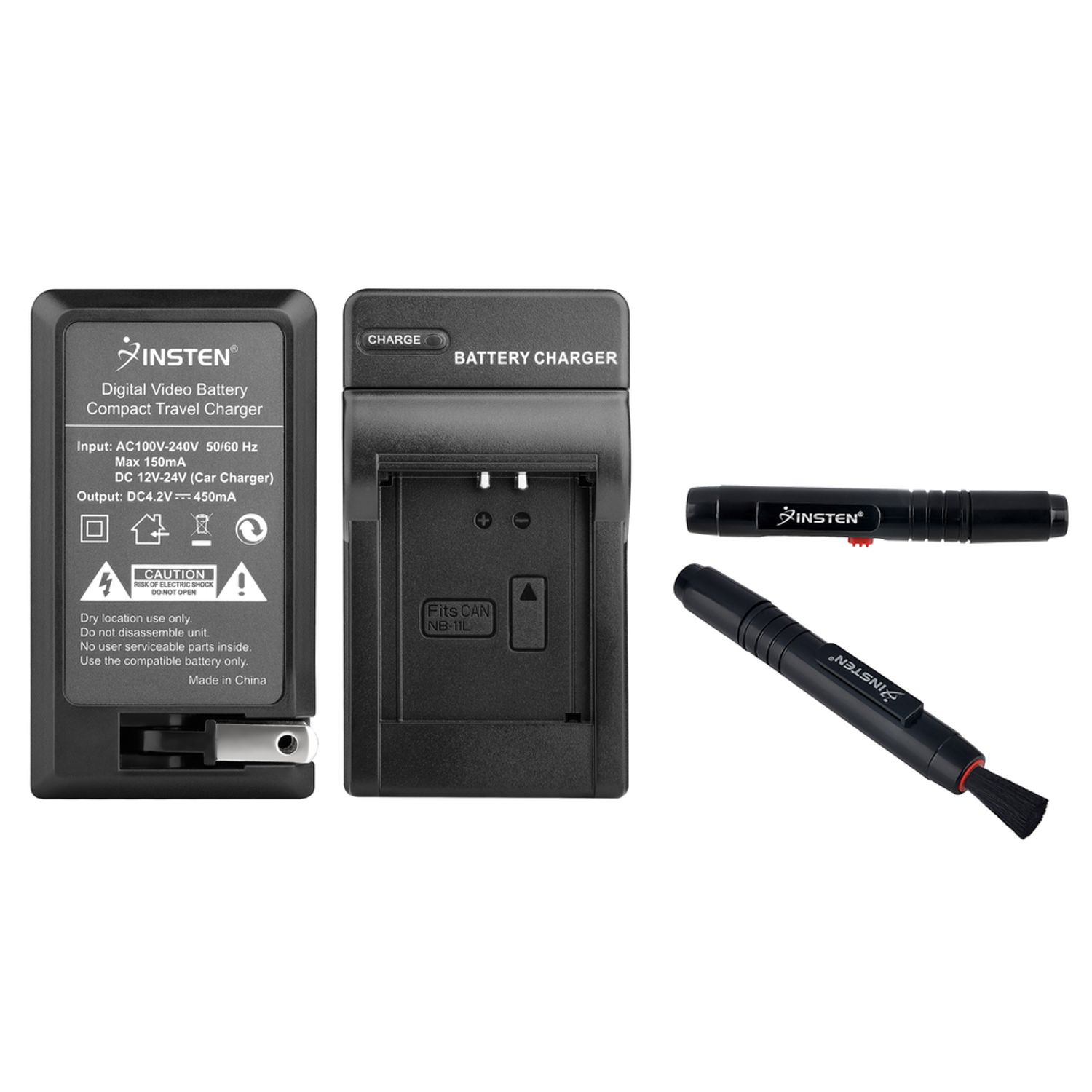 Insten Charger CB-2LD+Pen for NB-11L Canon PowerShot A2300 A2400 A3400 A4000 IS Camera