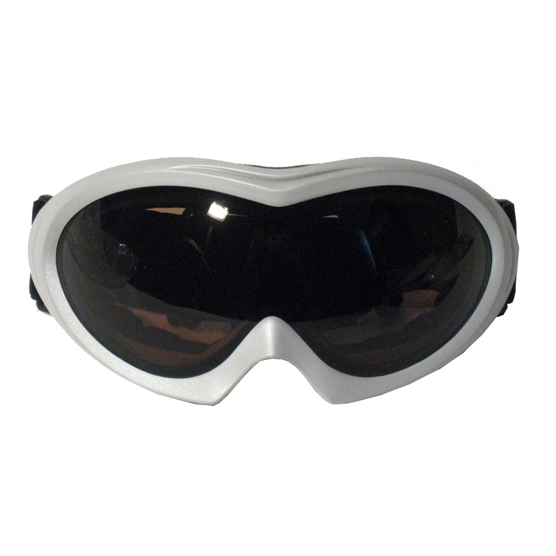 Snow Ski Snowboard Glasses Skiing Sun Goggles Sport White With Black Double Lens by Asia Pacific