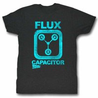 Back To The Future Movies Flux Adult Short Sleeve T Shirt