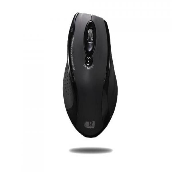 Adesso Wireless Ergonomic RF Laser Mouse (iMouseG25)
