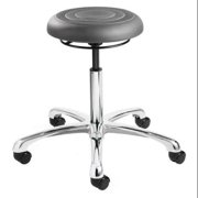 "BEVCO ErgoLux Jr Backless Pneumatic Stool 20"" to 25"", Gray, J3350-Graphite seat"