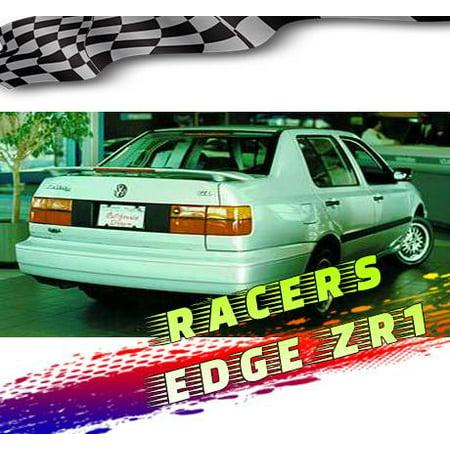 RacerEdgeZR1 1992 Volkswagen Jetta Custom Style ABS Spoilers RE2L-0