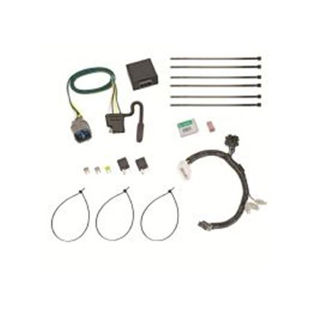 tow ready trailer wiring connector kit honda tow ready 118558 trailer wiring connector kit 2012 2015 honda pilot