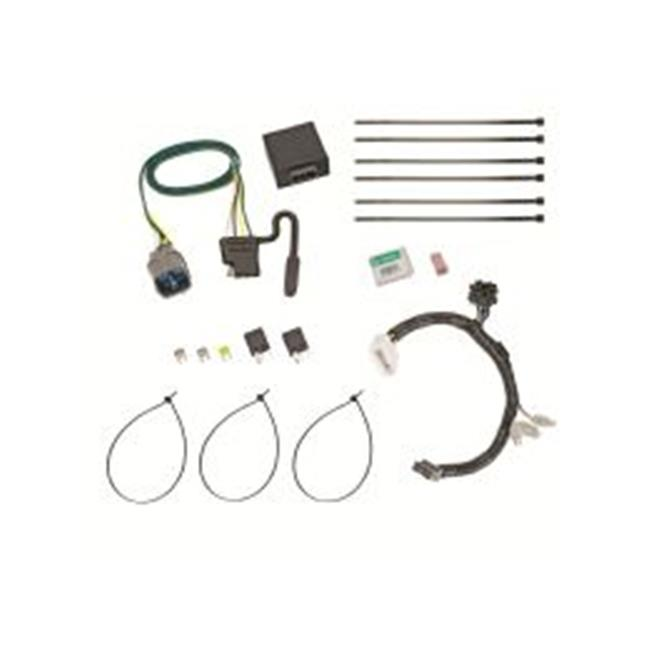 tow ready 118558 trailer wiring connector kit