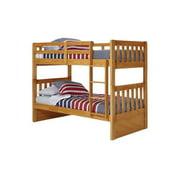 Woodcrest  Pine Ridge Twin Mission Bunk Bed