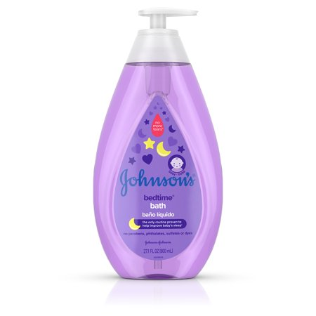 Johnson's Bedtime Baby Bath with Soothing Aromas, 27.1 fl.