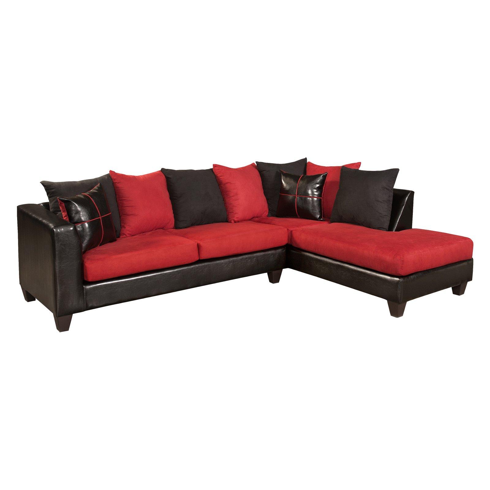 Flash Furniture Riverstone Victory Lane Cardinal Sectional Sofa