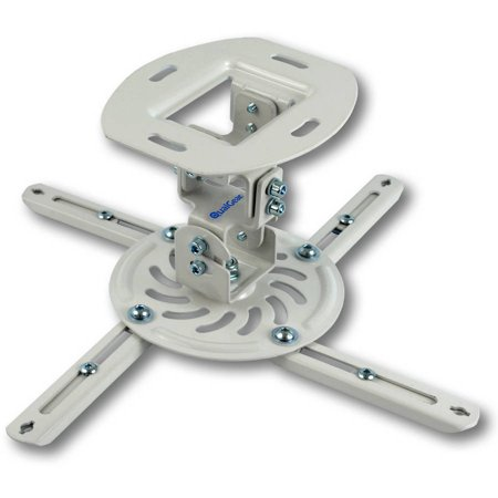 Qualgear Qg Pm 002 Wht S Universal Projector Ceiling Mount