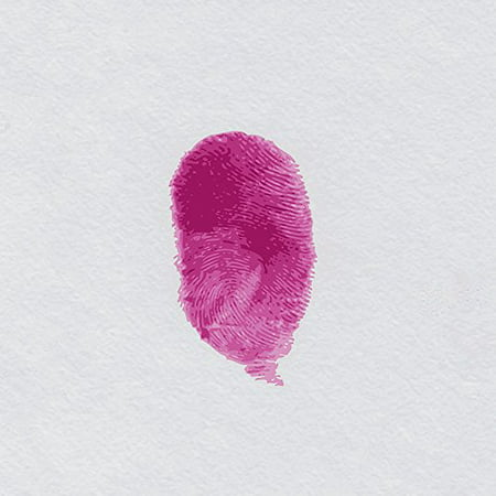 Pinkprint by Kelissa Semple 24x24 Art Print Poster Girly Barbz Nicki Minaj Think Pink Pop Art Color Splash Pink Print Thumb Magenta POD ()