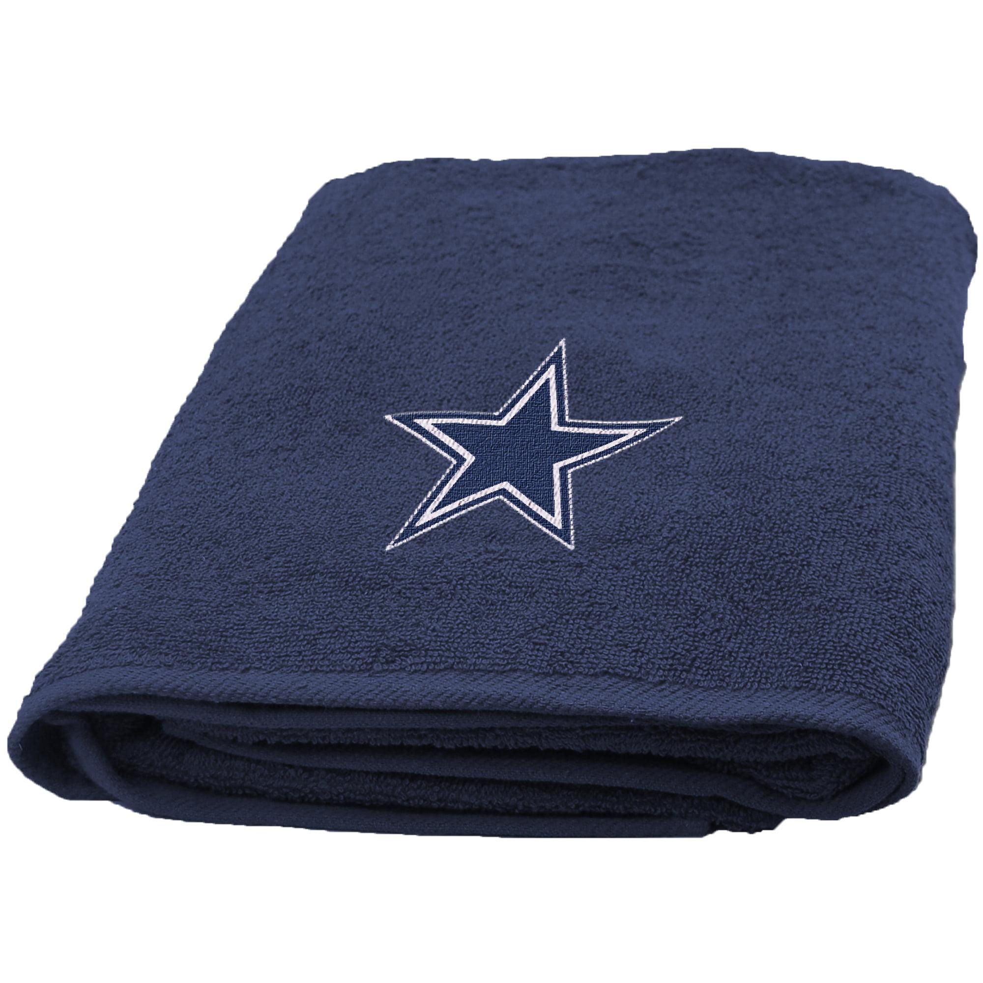 Dallas Cowboys The Northwest Company 25'' x 50'' Applique Bath Towel - No Size