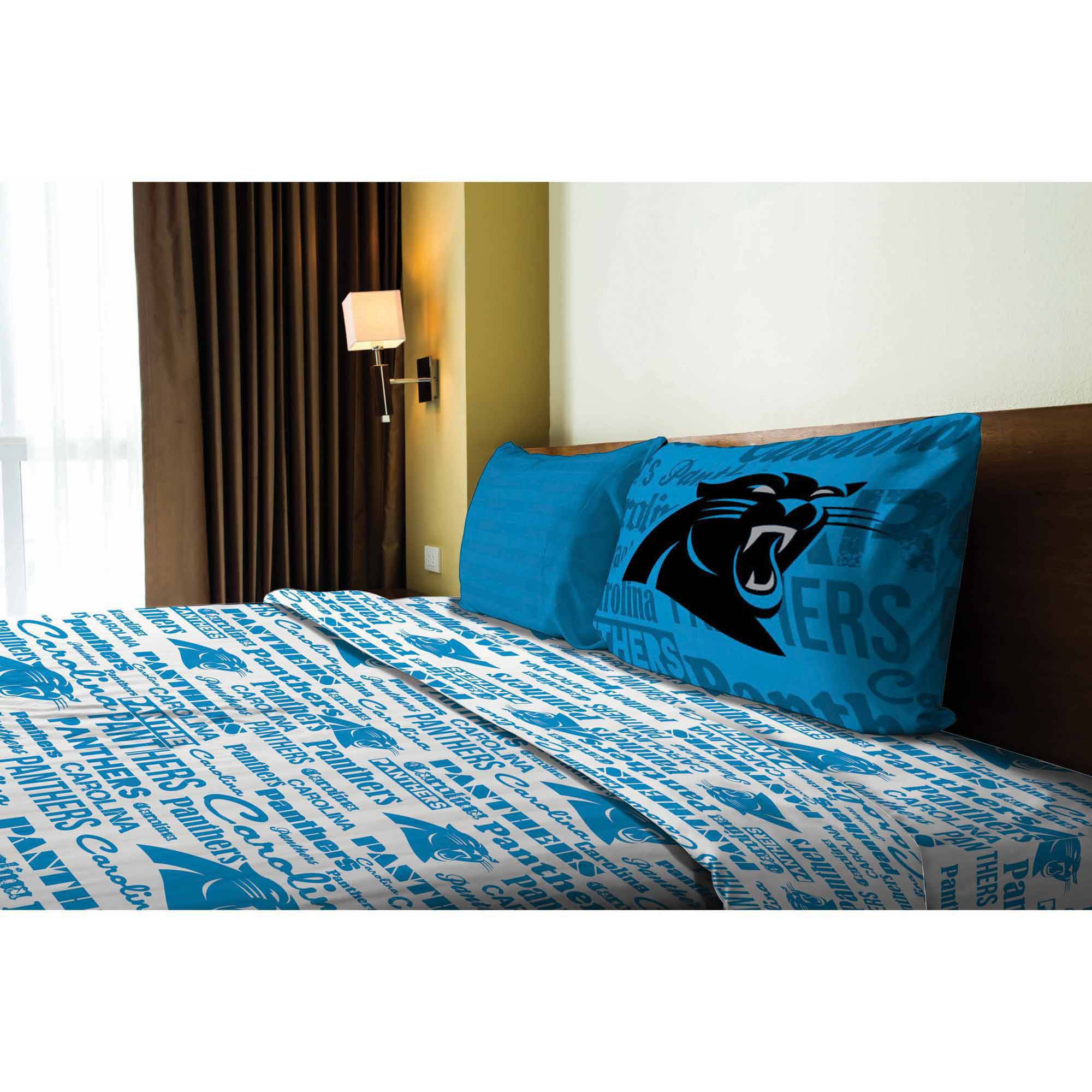 NFL Carolina Panthers Sheet Set