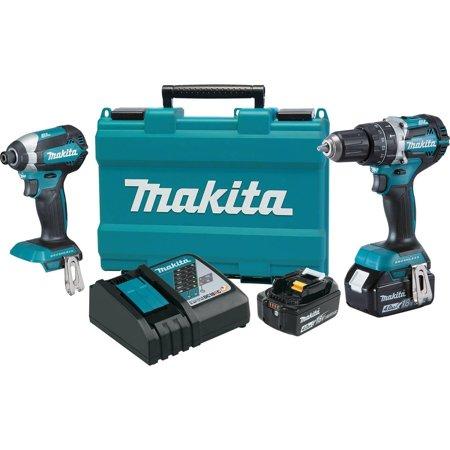 Makita 18V LXT Lithium-Ion Brushless Cordless 2-Pc. Combo Kit (4.0Ah) ()