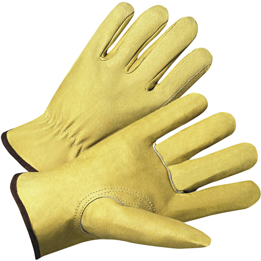Anchor Brand 4000 Series Pigskin Leather Driver Gloves, Beige, Extra Large, 12 Pairs
