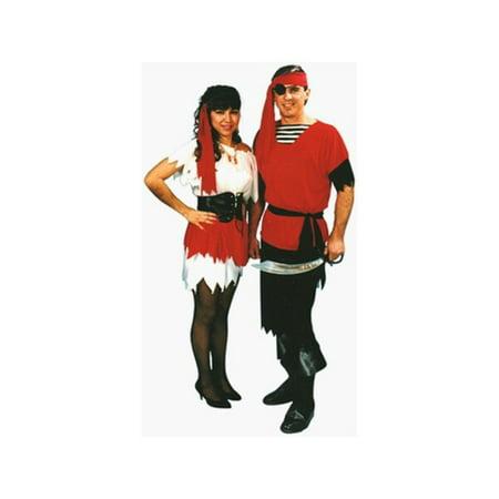 Adult Captain's Wench Costume - Best Unique Couple Halloween Costumes