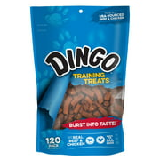 Dingo Training Treats Made with Real Beef and Chicken, 120-Count