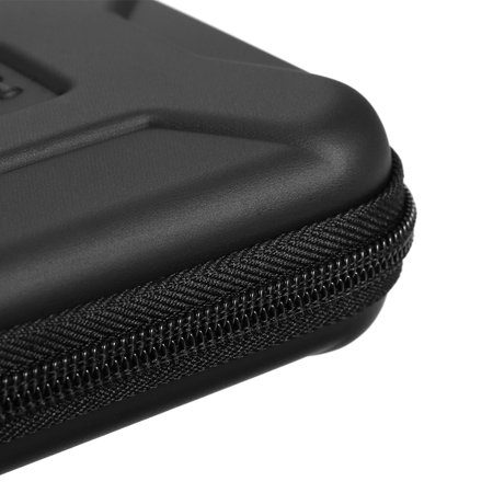 """EVA Shockproof 2.5 inch Hard Drive Carrying Case Pouch Bag 2.5"""" External HDD Power Bank Accessories Hand Carry Travel Case Protect Bag - image 4 de 7"""