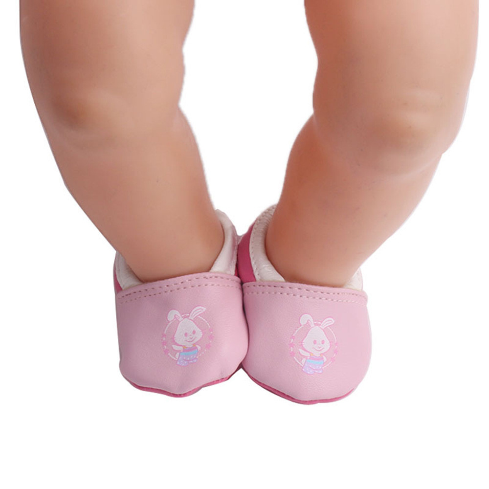 DZT1968 18 Inch American Girl Lovely Cute Shoes Fits Doll Accessory Girls' Toy