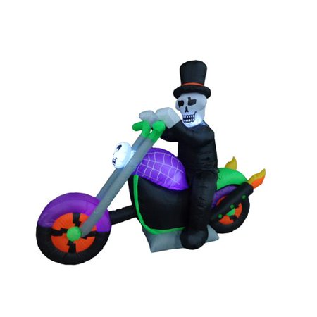 The Holiday Aisle Halloween Inflatable Skeleton on - Halloween 2017 School Holidays