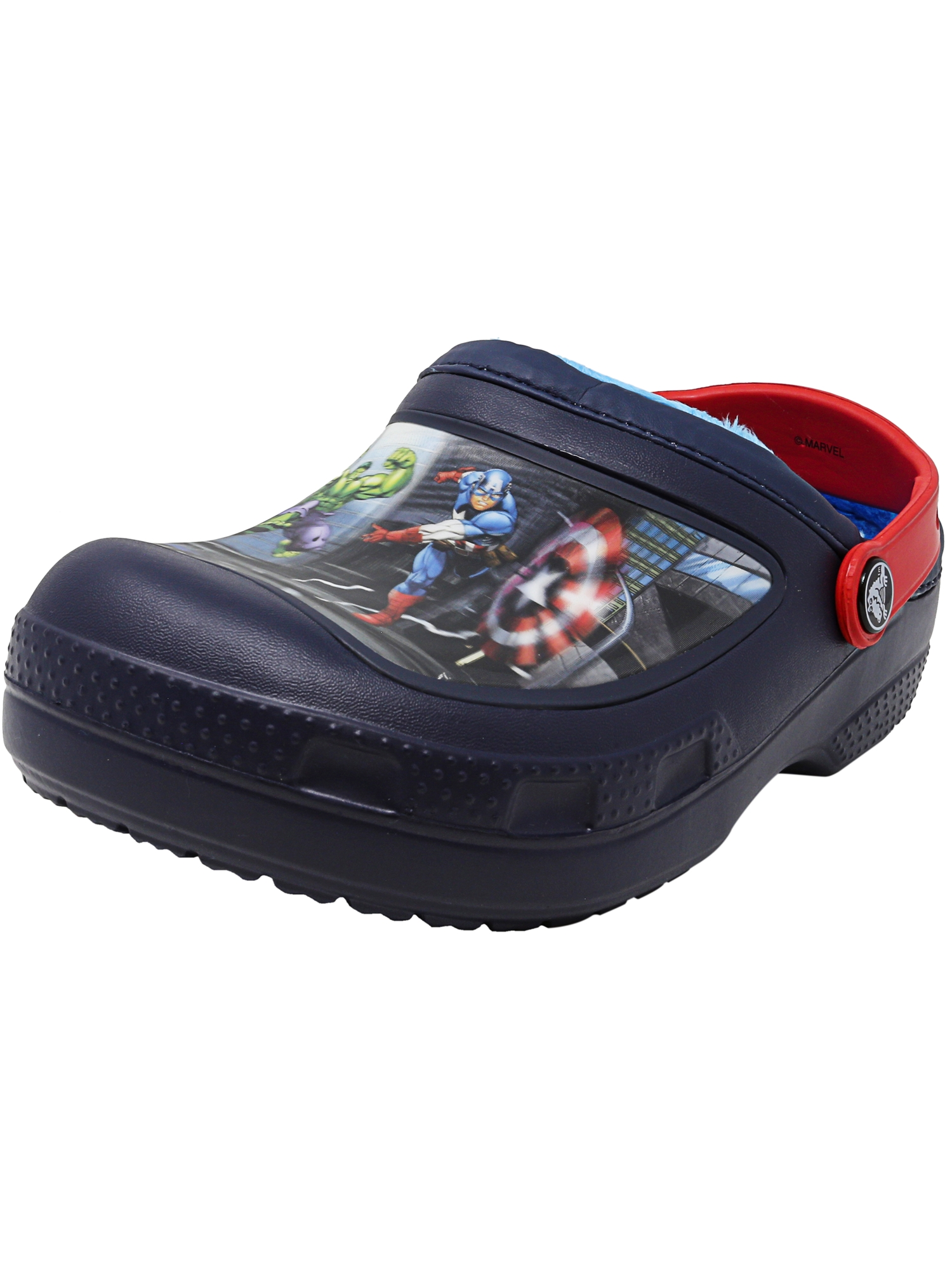 Crocs Cc Marvel Avengers Lined Clog Multi Ankle-High Clogs 2M by Crocs