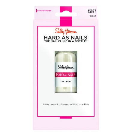Sally Hansen Nail Hardener - Sally Hansen Hard as Nails Nail Hardener, Clear