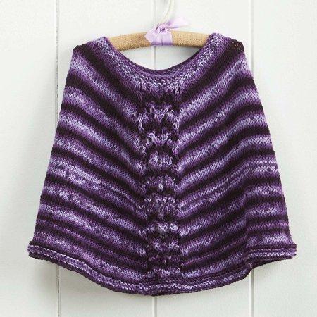 Little Prim Poncho Knit Pattern