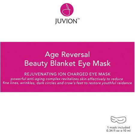Juvion Age Reversal Beauty Blanket Eye Mask, 4 count