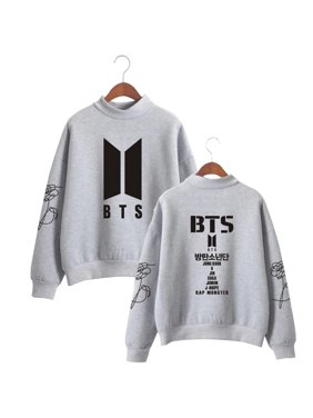 3d87aa57718 Product Image Fancyleo Women Fashion BTS Bangtan Boys Love Yourself Album Print  Sweatshirt Women Pullovers Kpop Korean Style