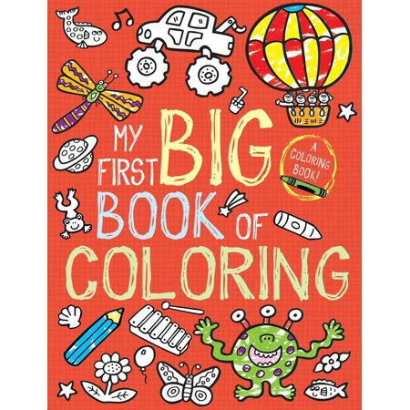 My First Big Book of Coloring (Paperback)