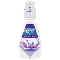 Mouthwash: Crest 3D White Brilliance