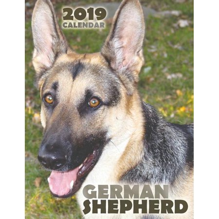 Halloween Germany 2019 (German Shepherd 2019 Calendar)