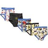 Fruit Of The Loom DC Comics Batman Boys Underwear Brief (Print, Color May Vary) (Little Boys & Big Boys)