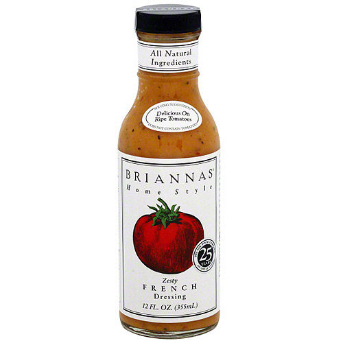 Brianna's Zesty French Dressing, 12 oz (Pack of 6)
