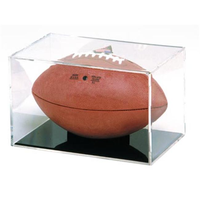 Creative Sports BQ-FOOTBALL-GS BallQube Football Display Case-Holder- Grand Stand