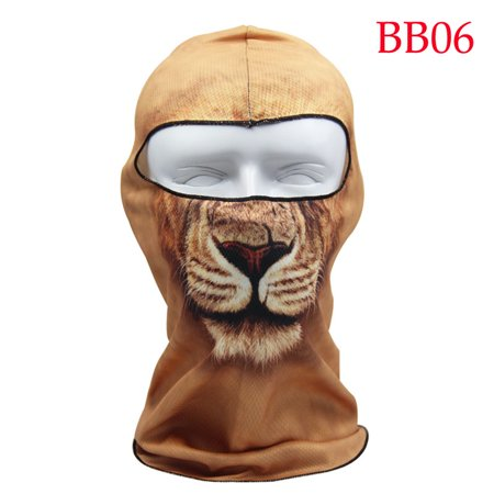 Areyourshop Motorcycle Cycling Ski Neck protecting Outdoor lycra Balaclava Full Face Mask, BB06
