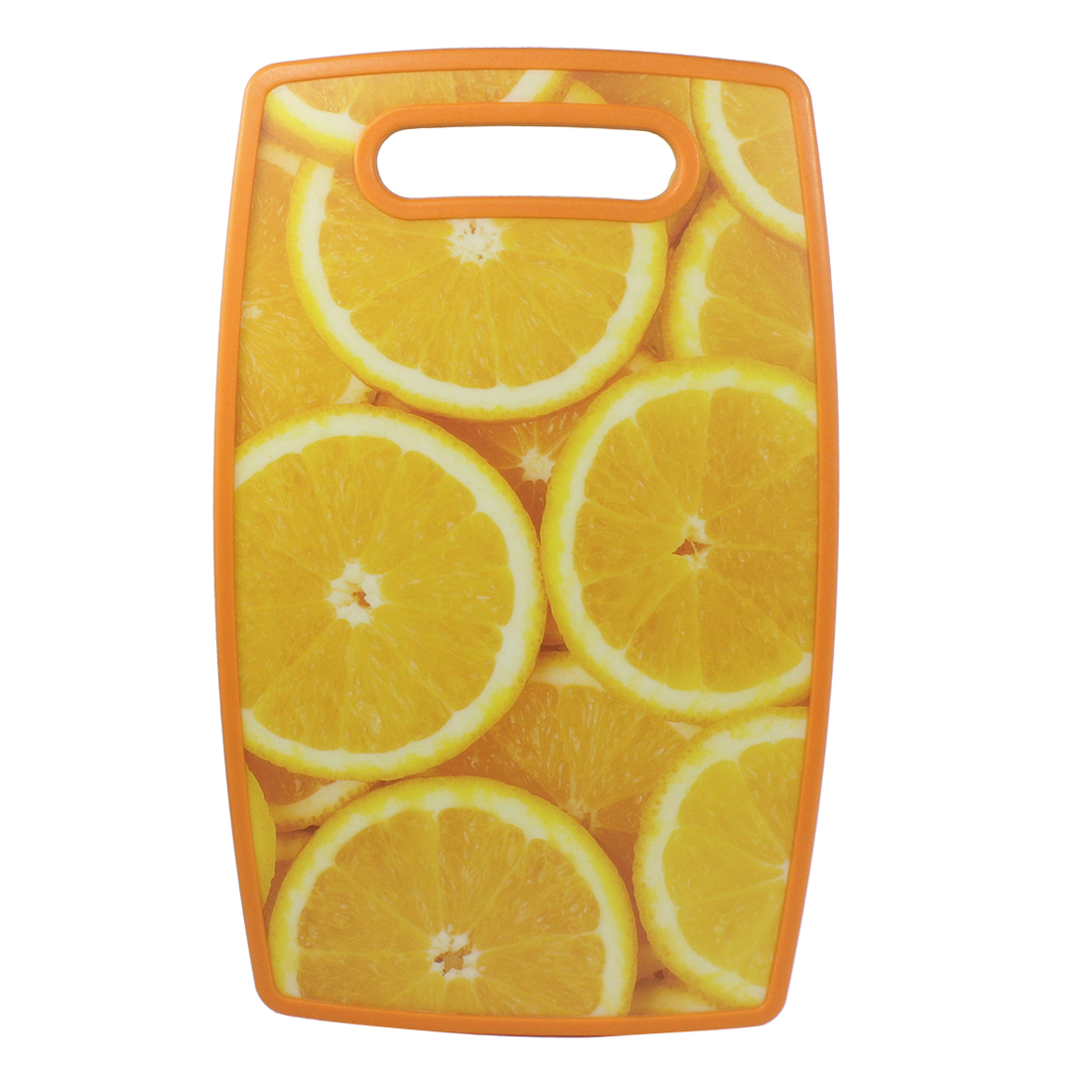 Kitchen Orange Pattern Two-sided Cutting Vegetable Chopping Block