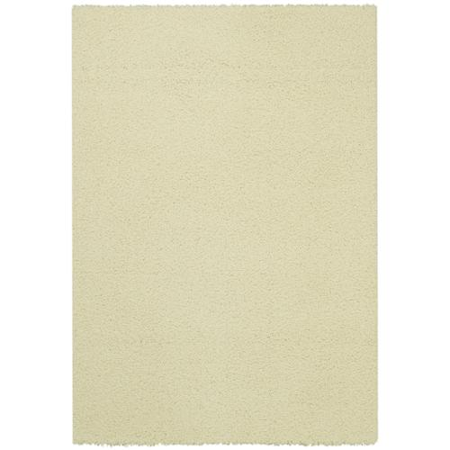 Rugnur Maxy Home Ivory Shag Accent Rug Doormat Single Solid Color (1'8 x 2'7) by Overstock